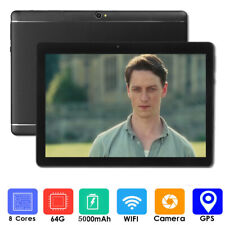 10.1 Inch Android 8.1 Tablet PC 4G+64GB Core  HD WIFI 2...