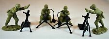 """TSSD09A """"WWII U.S. Infantry Fire Support"""" 54mm Plastic Toy Soldiers"""