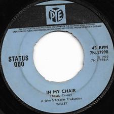 STATUS QUO - IN MY CHAIR / GERDUNDULA - ORIGINAL 70s BRITISH CLASSIC ROCK
