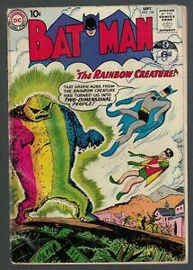 Dc Comics Batman 134 1960  3.5 VG- justice league
