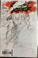 Ghost Rider #1 Marvel 2006 Marc Silvestri B/W Cover