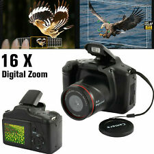 Digital SLR Camera 2.4Inch TFT LCD Screen HD 16MP 1080P 16X Zoom Anti-shake NEW#