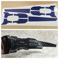 Oakley Oil Rig / Oilrig - Blue Carbon Fiber Vinyl Skin Wrap