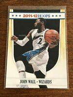 2011-12 NBA Hoops Basketball Base Card - John Wall - Washington Wizards