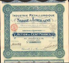 Industrie Hüttenkombinat Saar & Lorraine (Thionville) (L)