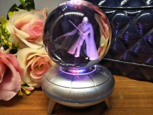 Star Wars Darth Vader 3D LED Crystal Decor Night Light Xmas Child Lamp Gift RGB
