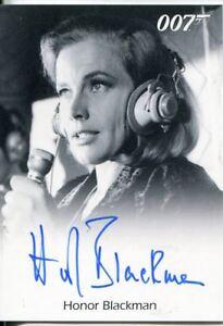 James Bond 50th Anniversary Series 2 Autograph Card Honor Blackman