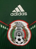Mexico National Soccer Team Men's Green Jersey Size Small Adidas Climacool