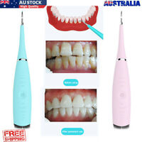 Electric Sonic Dental Scaler Tartar Calculus Plaque Remover Oral Tooth Cleaner