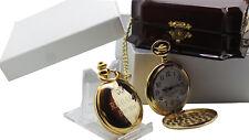 Gold Engraved Wedding Watches Pocket Watch Free Custom Engraving Best Man Usher