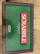 Vintage Scrabble Original 1988 Spear's Letter Word Game - Checked Complete @