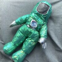 """Vintage 1997 Intel Pentium II MMX GREEN logo 13"""" Bunny People Astronaut With Tag"""