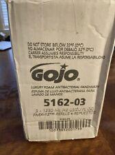 Gojo FMX-12 LuXury Foam Antibacterial Foaming Handwash Refills, 42.27 Oz, 3-PK