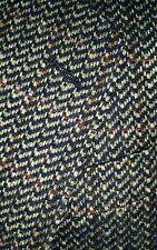 Vtg ERMENEGILDO ZEGNA Tweed Sport Coat Jacket Blazer 48-EU 38S Short donegal