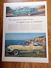 1953 DeSoto FireDome Convertible & Coupe Ad