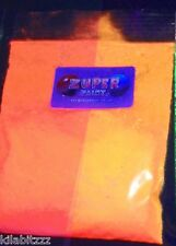 Ultraviolet uv fluorescent pigment powder TANGERINE
