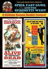 ALIVE OR PREFERABLY DEAD /KISS KISS BANG BANG GIULIANO GEMMA WILD EAST NEW DVD