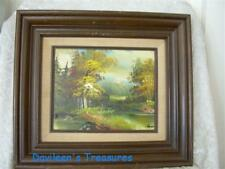 Vintage Landscape Oil Painting by Reeves