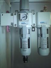 Air Pressure Filter Regulator & Lubricator 1/2 Bsp,with Isolator and Auto Drain
