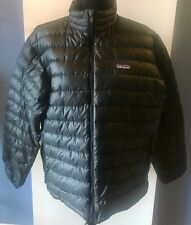 PATAGONIA Men's Black Insulated Down Puffer Jacket - Size Medium (M)