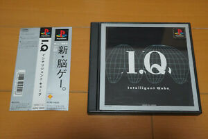 I.Q.: Intelligent Qube (Cube) Complete PlayStation PS1 Japanese Version Japan