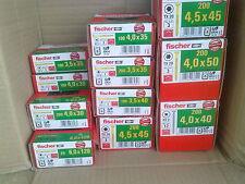 5 KG fischer FPF Power-Fast Spanplattenschrauben Sortiment-Mischung