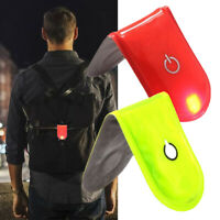 LED Safety Light Reflective Magnet Clip On Strobe Running Bike Cycling Charm