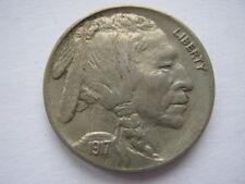 United States 1917 Buffalo Nickel 5 Cents GV