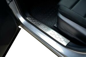 S/S Inner Door Sill Kick Step Scuff Plate Protector Cover For Mazda CX5 12-17 KE
