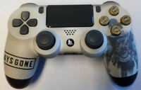 Custom Playstation 4 PS4 V2 Controller 'Days Gone'  w/ real bullet buttons
