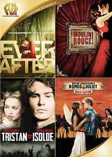 Ever After / Moulin Rouge / Tristan + Isolde / Romeo  Juliet - 4 Film Set - New