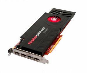 Dell Firepro W7000 Graphics Card 4GB 256 Bit DDR5 PCI-e 3.0 X16 4096x2160 204R2