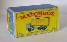 REPRO BOX MATCHBOX 1:75 n. 47 DAF Tipper Truck Container