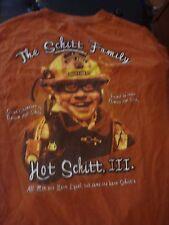 Hilarious 2-Sided Hot Schitt T-Shirt, Size Large, Good Condition!