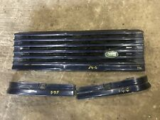 Lot150 RANGE ROVER P38 Front Grill 644 Blue Look At Pics Please. Light Trims Set