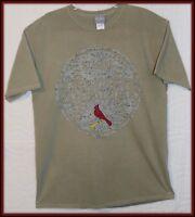 ST. Louis Cardinals Large Short sleeve t-shirt Baseball Cardinal Graphic