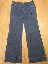 J. Jill Women's Wide Leg Below Waist  Denim Jeans SIZE 4