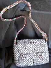 Fabulous Hand Crafted Purse - Recycled Ramen Noodle Packages - New - Great Item