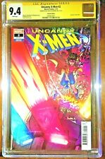 Uncanny X-Men #2 CGC 9.4 signed by Matt Rosenberg