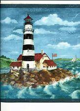 Vymura Wallpaper Borders EBay - Discontinued lighthouse border
