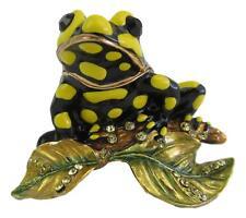 Frog Trinket Box or Figurine -Australian Coroboree Frog approx 4cm High