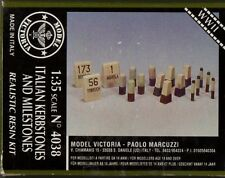 MODEL VICTORIA 4038 - ITALIAN KERBSTONES AND MILESTONES - RESIN KIT 1/35 - NUOVO