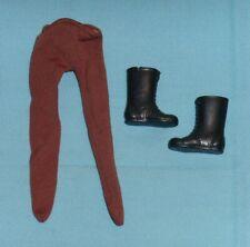 vintage Mego POTA Planet of the Apes SOLDIER APE BOOTS & PANTS LOT parts