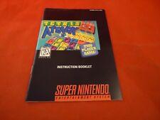 Tetris Attack Super Nintendo SNES Instruction Manual Booklet ONLY #B1