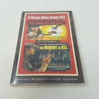 George Hilton Double Feature, Full House for the Devil and Moment to Kill (DVD)