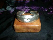 Beautiful  Silver Bracelet 925 Heavy 2 Gr with watch