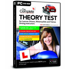 Test de conduite Theory PC DVD Learner Drivers route code perception des risques