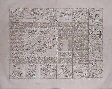 Antique map, Carte d'Espagne