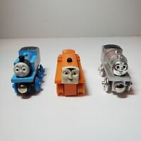 Lot Of 3 Thomas And Friends Wooden Engine Trains - Terrence - 60 Year Percy
