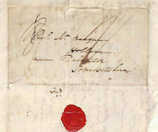 BS190 1824 GB CAMBRIDGE UNIVERSITY Letter Headed *Emmanuel College* Cover Hollam